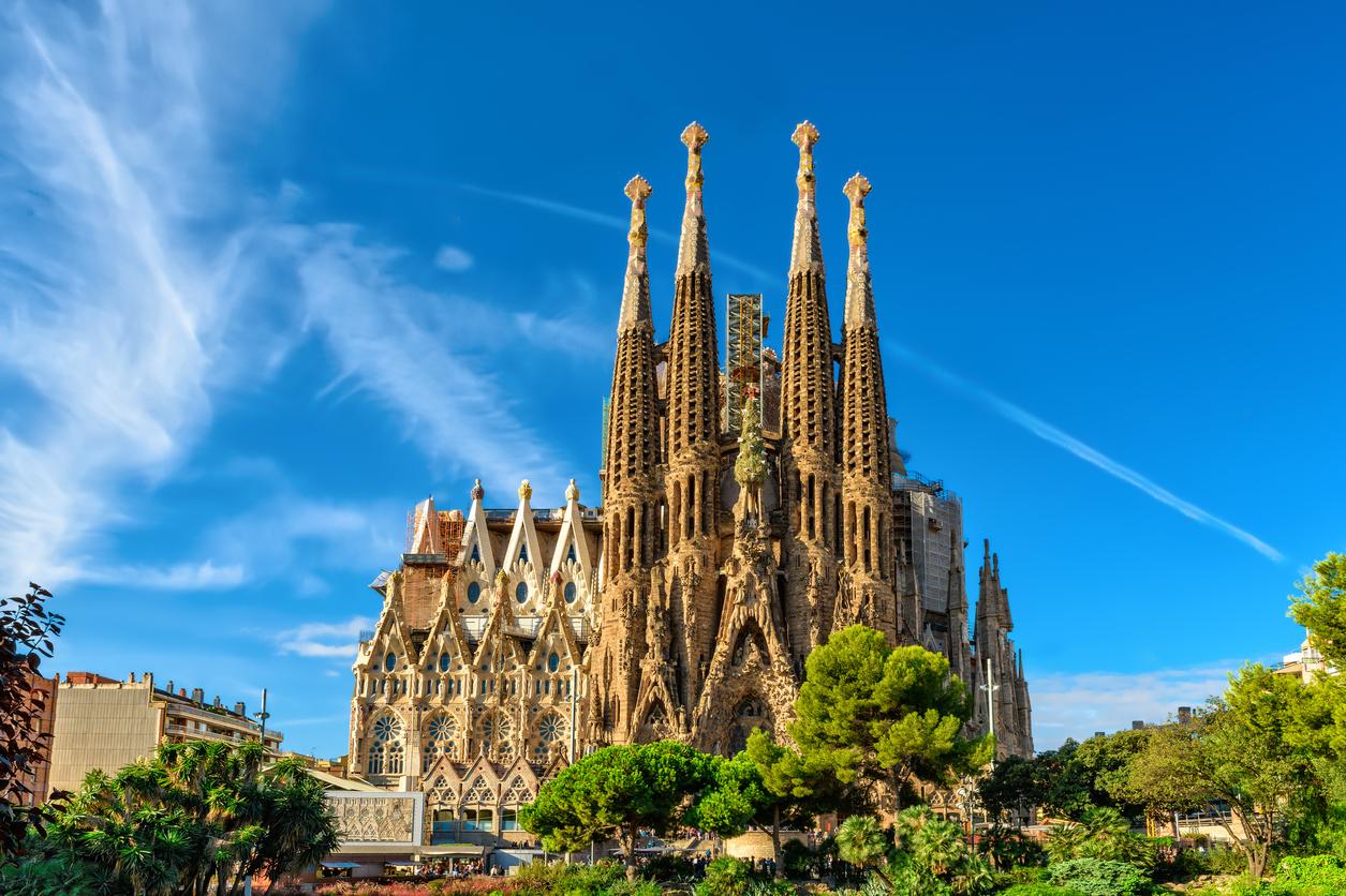 sagrada familia gaudi barcelona spanje
