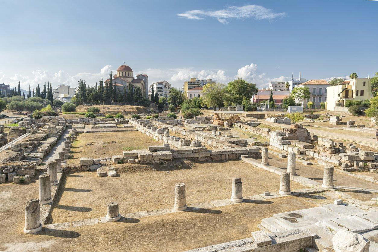 athene archeologie
