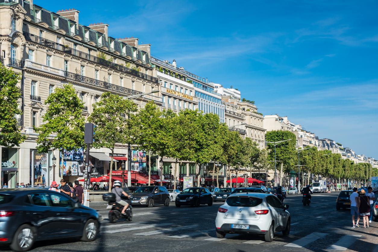 Champs-Elysées winkels