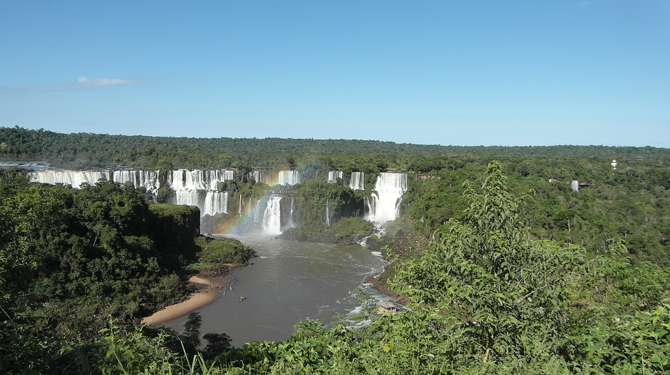 Foz do Iguaçu watervallen brazilie