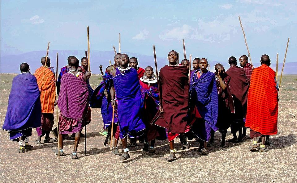 Masai volk kenia