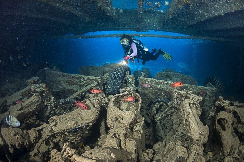 Thistlegorm duiken Egypte