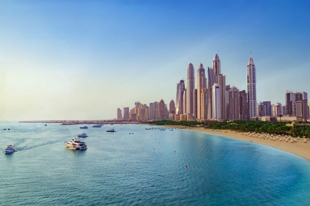 de rijkdom van de Verenigde Arabische Emiraten