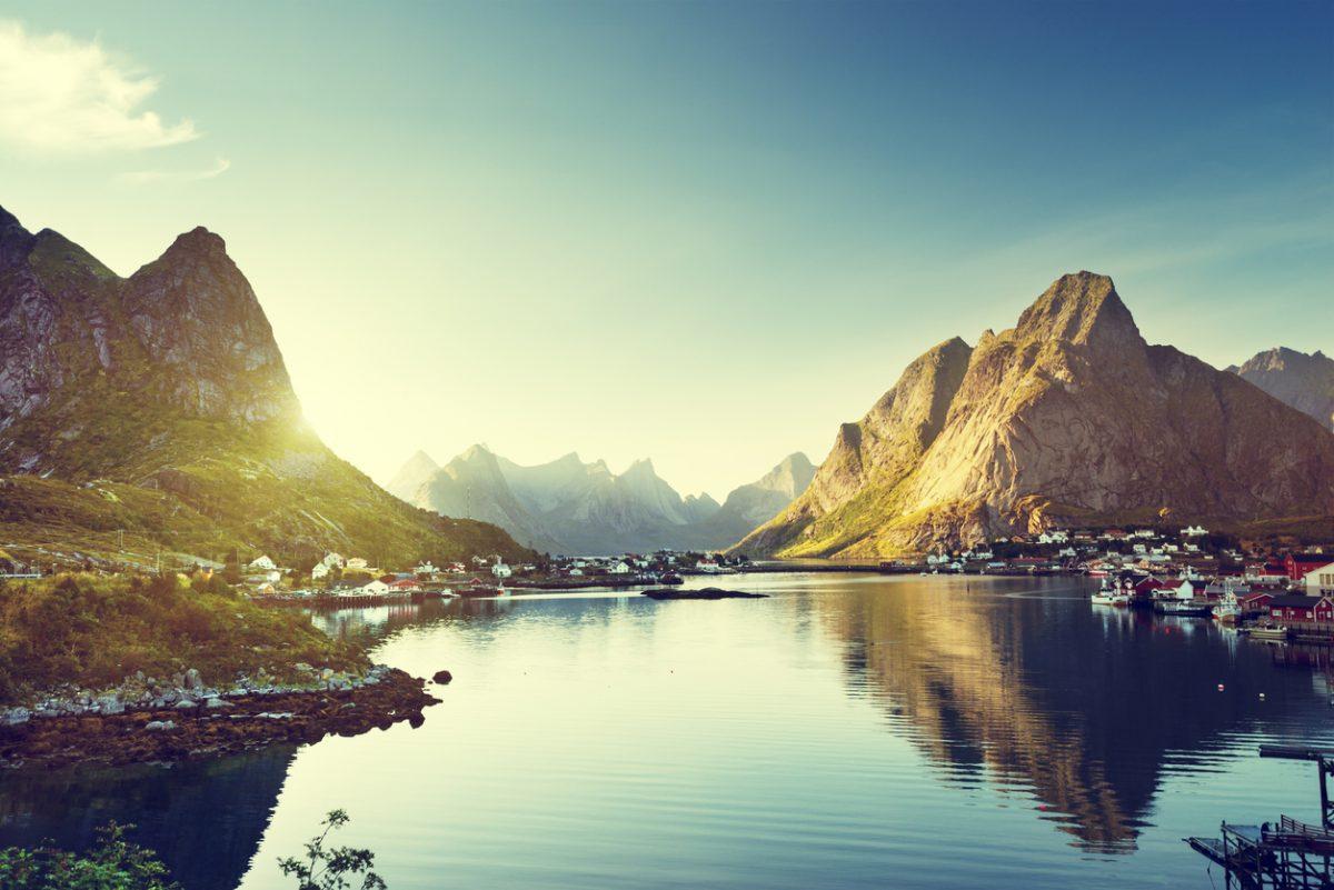 Lofoten, eilandengroep in Noord-Noorwegen