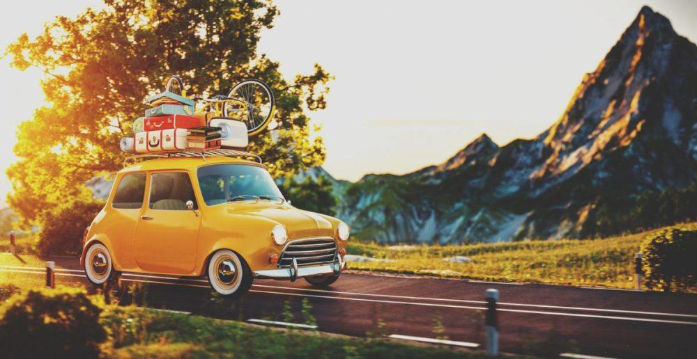 Autovakantie Checklist voor vertrek