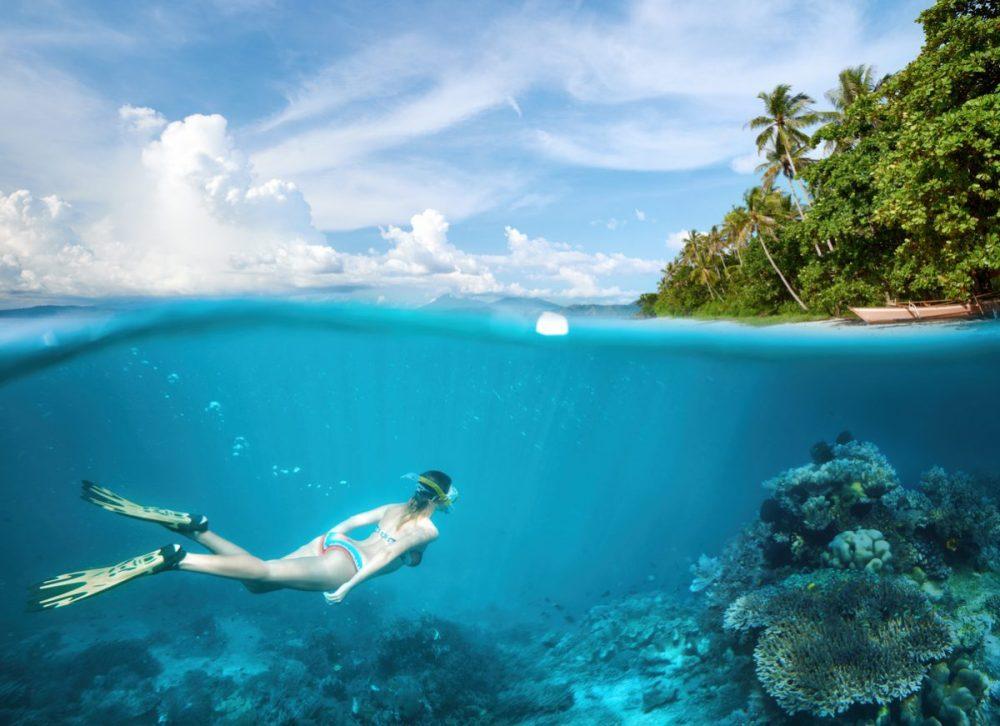 snorkelen op de filipijnen