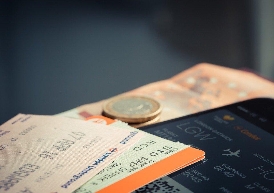 boarding tickets