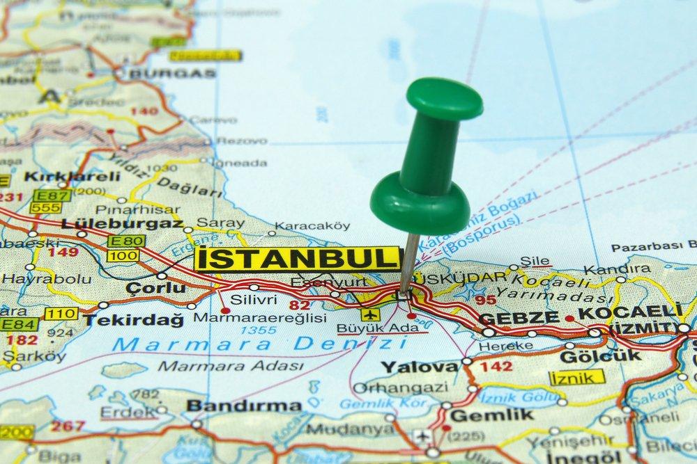 istanbul kaart