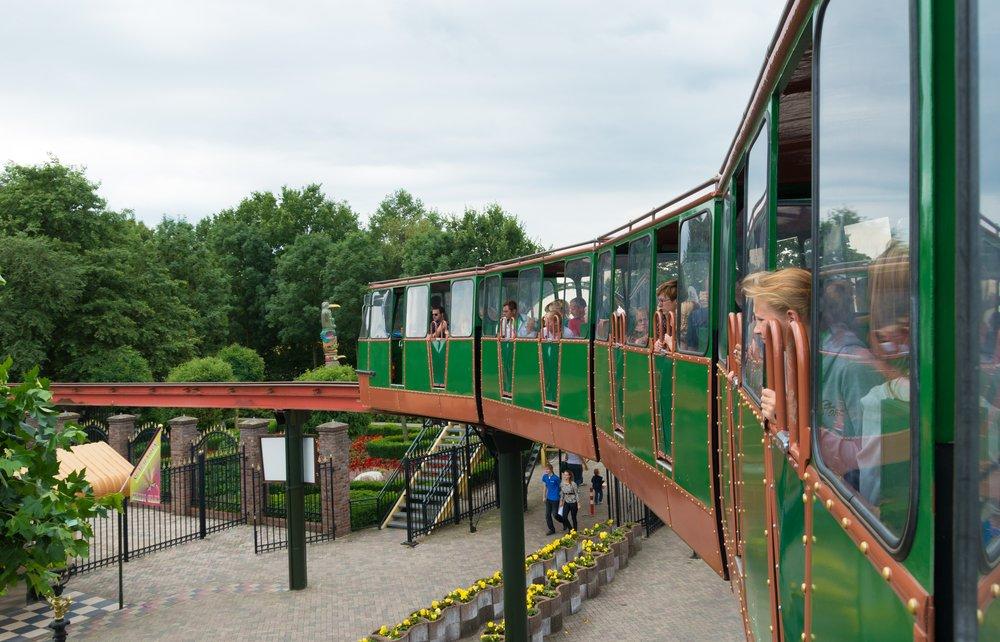 Attractieparken voor wilde belevenissen