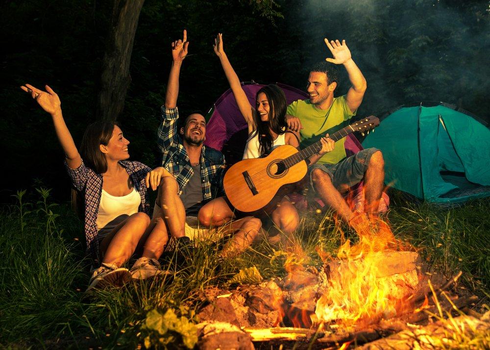 Luxe kamperen in Nederland 3 tips met vrienden