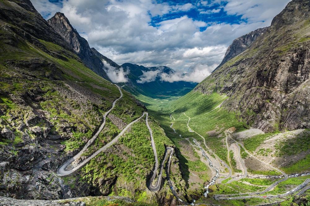 De Trollstigen route, Noorwegen